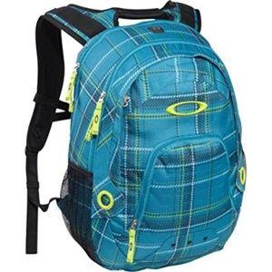 Oakley Flak Backpack Green Travel Computer Case